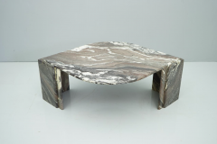 Sculptural Marble Coffee Table Italy 1970s - 1775000