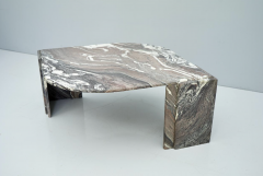 Sculptural Marble Coffee Table Italy 1970s - 1775001