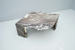 Sculptural Marble Coffee Table Italy 1970s - 1775002