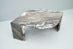 Sculptural Marble Coffee Table Italy 1970s - 1775003