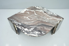 Sculptural Marble Coffee Table Italy 1970s - 1775005