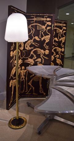Sculptural Murano Glass Mushroom Floor Lamp 1970s - 1187450