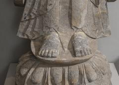 Sculpture of Buddha In The style Of the Tang And Wei Dynasties Sandstone - 2000731