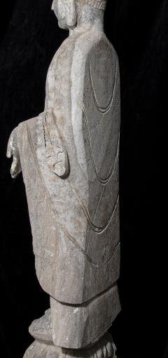 Sculpture of Buddha In The style Of the Tang And Wei Dynasties Sandstone - 2000734