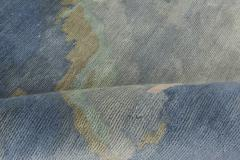 Sea and Sand Hand knotted Silk Runner - 1111499