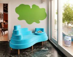 Sebastian Menschhorn BATIKI chaiselongue an insular sofa or sofa islet - 866538
