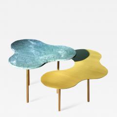 Sebastian Scherer Glass Coffee Table Ensemble of 2 Sebastian Scherer - 872187