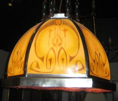 Secessionist Chandelier - 640273