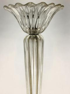 Seguso Fluted Glass Chandelier - 1282372