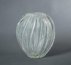 Seguso Murano Italian Glass Vase - 342381
