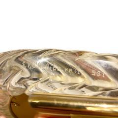 Seguso Vetri d Arte Seguso Large Hand Blown Vanity Mirror 1981 Signed  - 1433983