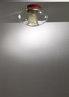 Seguso Vetri d arte Pier Luigi Colli flush mount ceiling lamp for Seguso - 1449855
