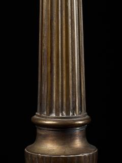 Selection of three 19th C Brass Classic Candleholders - 1927301