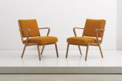 Selman Selmanagic Easy Chairs by Selman Selmanagic for VEB Deutsche Werkst tten Hellerau DDR 1950 - 1504573
