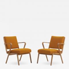 Selman Selmanagic Easy Chairs by Selman Selmanagic for VEB Deutsche Werkst tten Hellerau DDR 1950 - 1509588