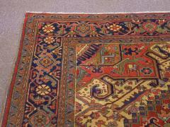 Semi Antique Room Size Heriz Rug w Serapi Colors c 1920 13 x 9 5 - 1065468