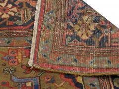 Semi Antique Room Size Heriz Rug w Serapi Colors c 1920 13 x 9 5 - 1065469