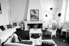 Serge Mouille Editions Serge Mouille Lampadaire 3 Bras Pivotants Floor Lamp - 1668506