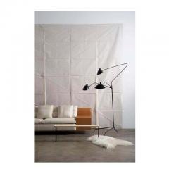Serge Mouille Editions Serge Mouille Lampadaire 3 Bras Pivotants Floor Lamp - 1668507