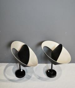 Serge Mouille Pair of Petit Saturne Wall Lights by Serge Mouille 1957 - 628656