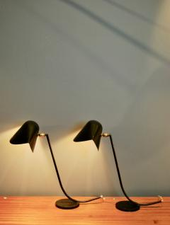 Serge Mouille Rare Pair of Antony Desk Lamps by Serge Mouille 1955 - 628347