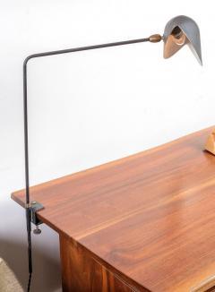 Serge Mouille Serge Mouille Agrafee Clamp on Desk Lamp France 1950s - 646011