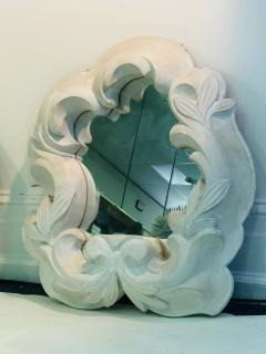 Serge Roche Fabulous Pair of Plaster Mirrors in the Manner of Serge Roche - 1074857