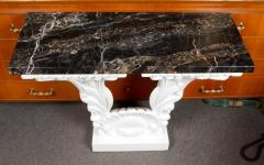 Serge Roche Great Carved Wood Console Table in the Manner of Serge Roche - 342919