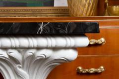 Serge Roche Great Carved Wood Console Table in the Manner of Serge Roche - 342923