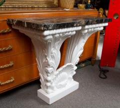 Serge Roche Great Carved Wood Console Table in the Manner of Serge Roche - 342925