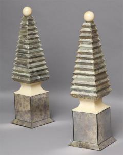 Serge Roche Pair of Obelisks Serge Roche French c 1940 - 263351