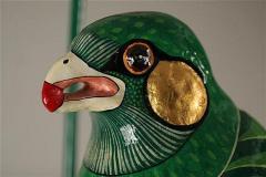 Sergio Bustamante Editioned Hanging Parrot Sculpture Sergio Bustamante - 74327