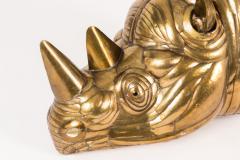 Sergio Bustamante Rhino Trophy Mount by Sergio Bustamante - 421057