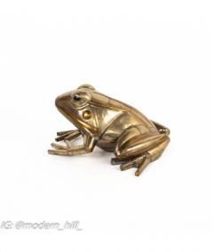 Sergio Bustamante Sergio Bustamante Mid Century Brutalist Metal Frog - 1814554