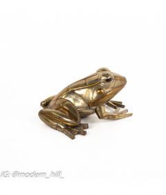 Sergio Bustamante Sergio Bustamante Mid Century Brutalist Metal Frog - 1814555