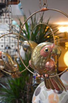 Sergio Bustamante Set of Three Sergio Bustamante Parrot Sculptures - 363735
