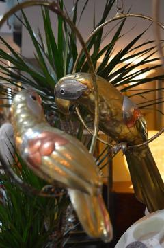 Sergio Bustamante Set of Three Sergio Bustamante Parrot Sculptures - 363737
