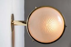 Sergio Mazza 1960s Sergio Mazza Brass Gamma Wall or Ceiling Lights for Artemide - 1251740