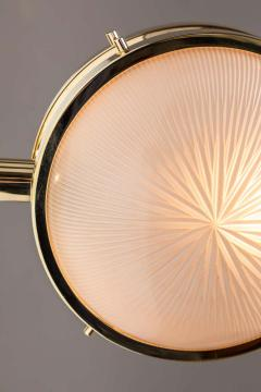 Sergio Mazza 1960s Sergio Mazza Brass Gamma Wall or Ceiling Lights for Artemide - 1251743