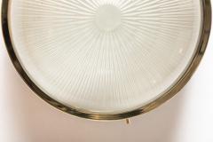 Sergio Mazza 1960s Sergio Mazza Brass Sigma Wall or Ceiling Lights for Artemide - 909657