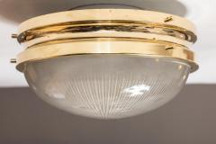 Sergio Mazza 1960s Sergio Mazza Brass Sigma Wall or Ceiling Lights for Artemide - 909658