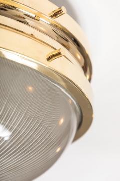 Sergio Mazza 1960s Sergio Mazza Brass Sigma Wall or Ceiling Lights for Artemide - 909660