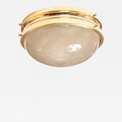 Sergio Mazza 1960s Sergio Mazza Brass Sigma Wall or Ceiling Lights for Artemide - 911192