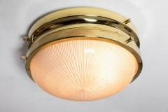 Sergio Mazza 1960s Sergio Mazza Brass Sigma Wall or Ceiling Lights for Artemide - 1043470