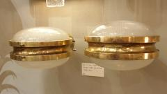 Sergio Mazza Pair of Mid Century Modern Gamma sconces by Sergio Mazza for Artemide - 1733975