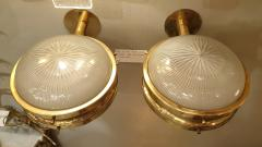 Sergio Mazza Pair of Mid Century Modern Gamma sconces by Sergio Mazza for Artemide - 1733976