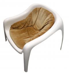 Sergio Mazza Rare Vintage Fiberglass Chairs - 1010243