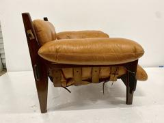 Sergio Rodrigues JACARANDA AND LEATHER MISCHEVIOUS CHAIR BY SERGIO RODRIGUES - 1911349