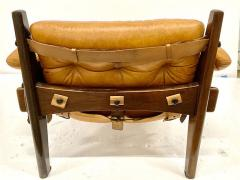 Sergio Rodrigues JACARANDA AND LEATHER MISCHEVIOUS CHAIR BY SERGIO RODRIGUES - 1911350