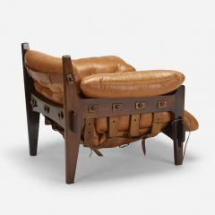 Sergio Rodrigues JACARANDA AND LEATHER MISCHEVIOUS CHAIR BY SERGIO RODRIGUES - 1911351